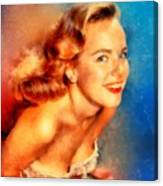 Terry Moore, Vintage Hollywood Actress Canvas Print