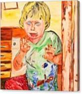 Terry Canvas Print