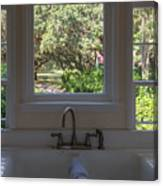Window Over The Sink Canvas Print