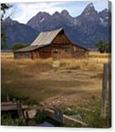 Teton Barn 2 Canvas Print