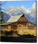 Teton Barn 4 Canvas Print