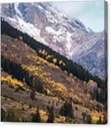 Teton Colors Canvas Print