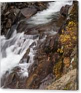 Teton Falls Canvas Print