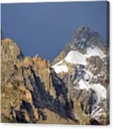 Teton Peaks Canvas Print