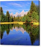 Teton Tranquility Canvas Print