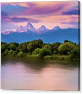 Teton Valley Paradise  Canvas Print