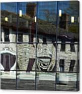 Tett Centre Reflection Canvas Print