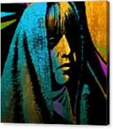 Tewa Girl Canvas Print