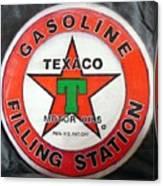 Texaco Sign Canvas Print