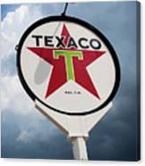 Texaco Star Canvas Print