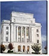 Texarkana Courthouse Canvas Print