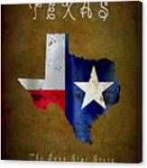 Texas ... The Lone Star State Canvas Print
