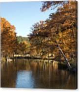 Texas Autumn Canvas Print