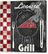 Texas Barbecue I Canvas Print