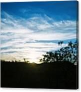 Texas Big Blue Sky Canvas Print