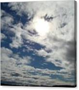 Texas Blue Sky Two Canvas Print