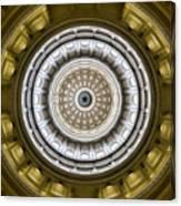 Texas Capitol Dome Canvas Print
