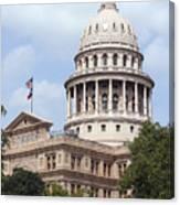 Texas Capitol Canvas Print
