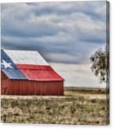 Texas Flag Barn #2 Canvas Print