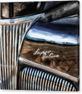 Texas - Ford Super Deluxe Canvas Print
