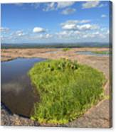 Texas Hill Country Enchanted Rock Zen Pools 2 Canvas Print