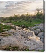 Texas Hill Country Sunrise - Llano Tx Canvas Print