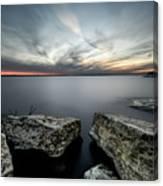 Texas Iceburgs @ Sunset Canvas Print