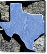 Texas Rocks Canvas Print