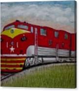 Texas Special Canvas Print