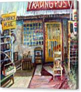 Texas Store Front Canvas Print