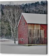 Textured Barn Canvas Print