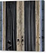 Textured Door Canvas Print