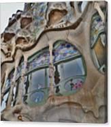 Textures. Gaudi. Modern Style. Canvas Print
