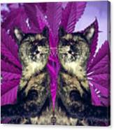 Tha 2piece Kitty Canvas Print