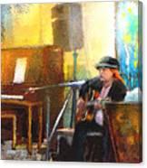 Tha Hambone Gallery In Clarksdale Canvas Print
