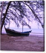 Thai Fishing Boat 04 Canvas Print
