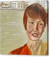 Thai Hostess Canvas Print