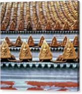 Thai Temple Roof Canvas Print