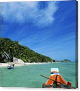 Thailand Boat Canvas Print
