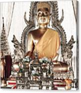 Thailand Gold Buddha Canvas Print