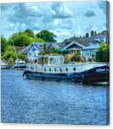 Thames Tug Boat Canvas Print