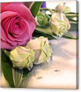 Thank You Rose Bouquet  Canvas Print