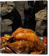 Thanksgiving Turkey For Us Military Servicemen Canvas Print