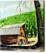 That Barn From That Movie Canvas Print