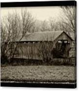 That Old Covered Bridge Canvas Print