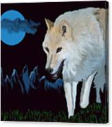 That Wolf Canvas Print