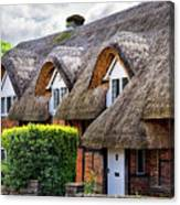 Thatched Cottages In Chawton 2 Canvas Print