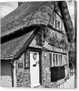Thatched Cottages In Chawton 5 Canvas Print