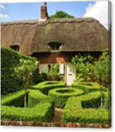 Thatched Cottages In Chawton 7 Canvas Print