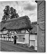 Thatched Cottages Of Hampshire 13 Canvas Print